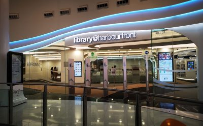 The Singapore National library@harbourfront